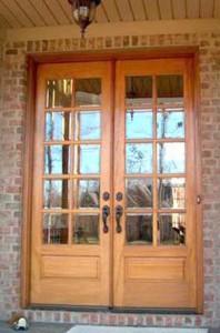 Amish Custom French Doors