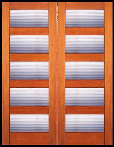 Bamboo Doors