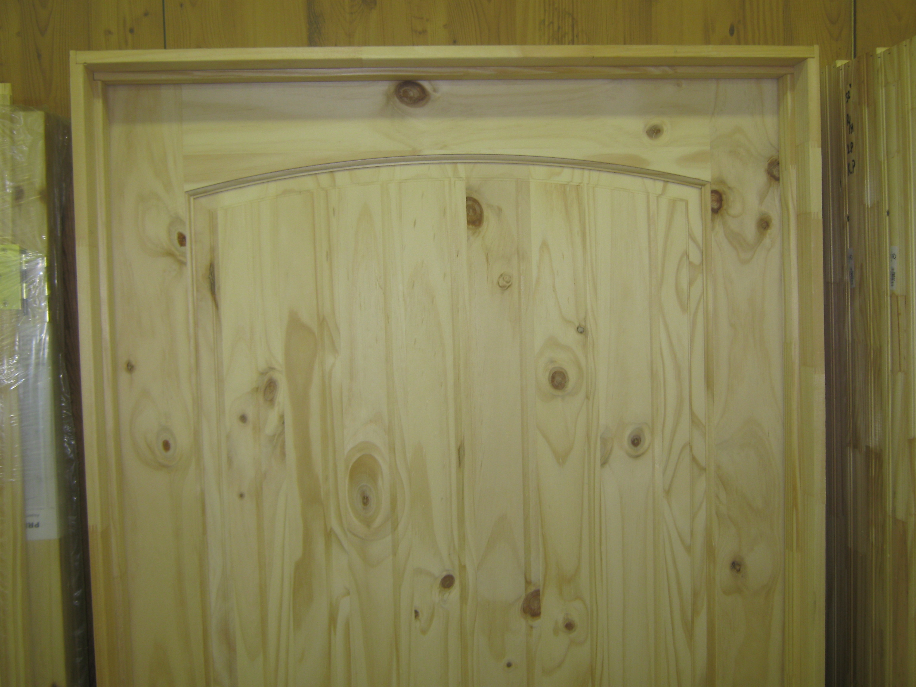 Amish Custom Doors Knotty Pine Interior Prehung Doors Amish Custom