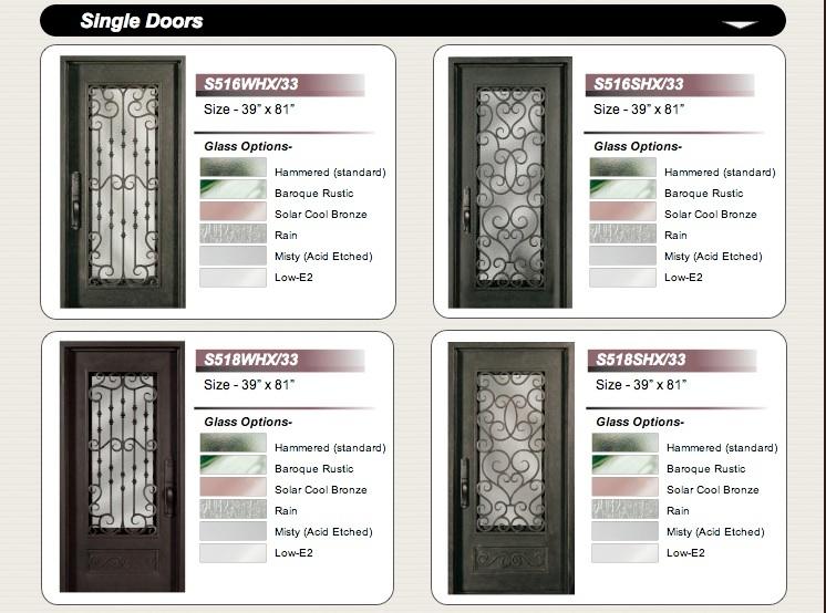 Forged Iron Doors