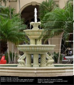 Marble Fountains, Statuary & Mantels