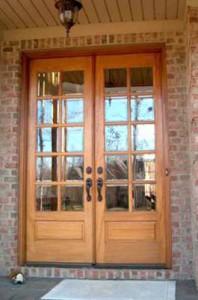 Custom French Doors