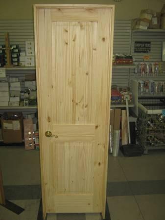 knotty pine rectangular panel
